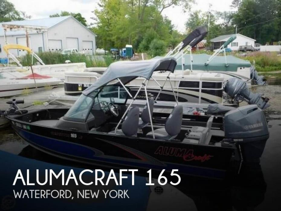 2016 Alumacraft 165