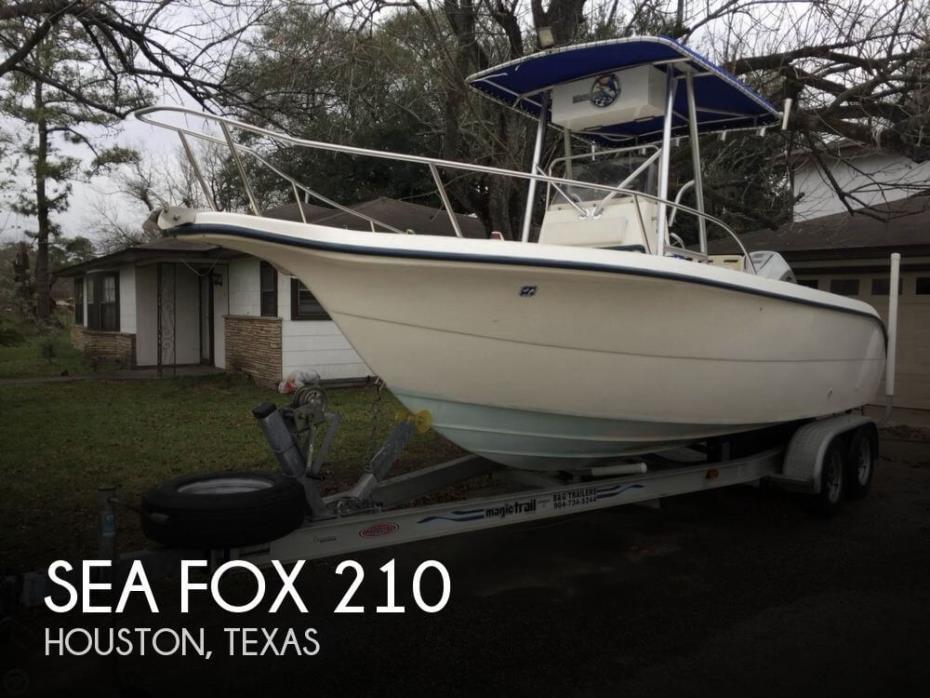 2002 Sea Fox 210