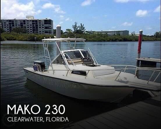 1988 Mako 230