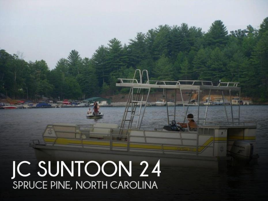 Jc Suntoon boats for sale