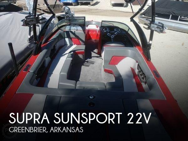 2012 Supra Sunsport 22V