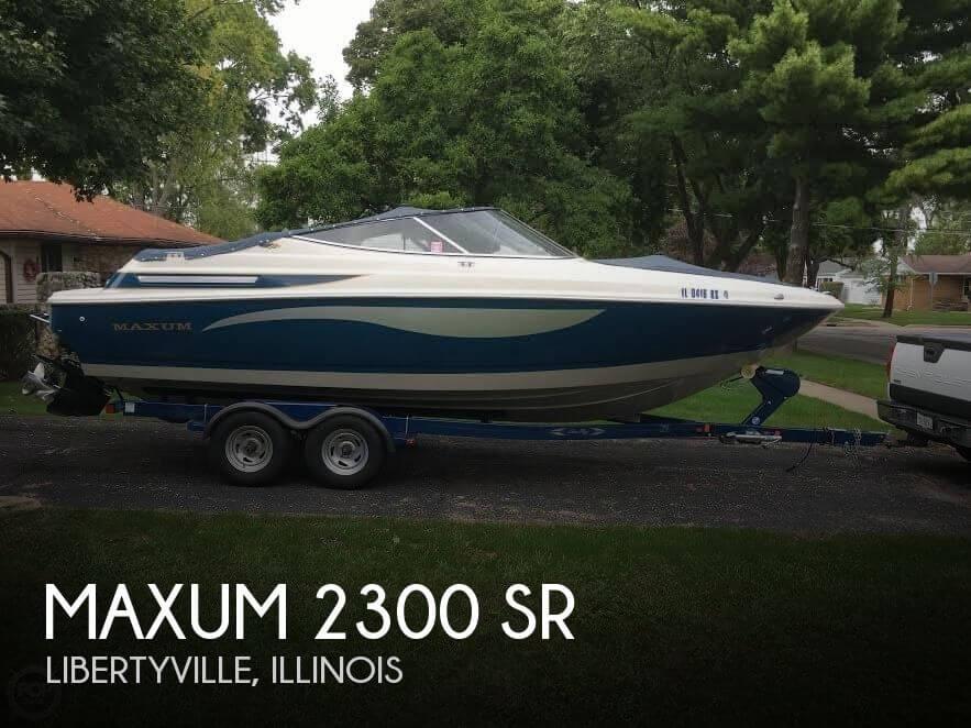 1996 Maxum 2300 SR