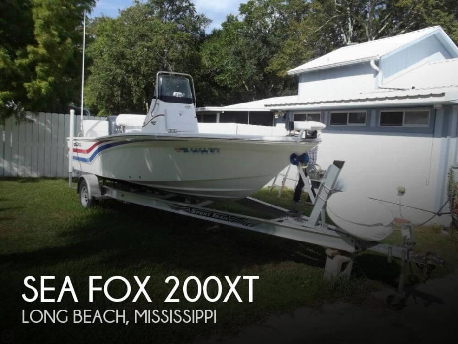 2012 Sea Fox 200XT