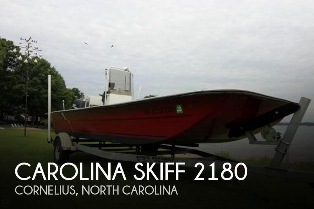 1995 Carolina Skiff 2180