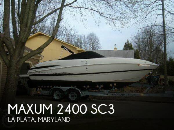 2005 Maxum 2400 SC3