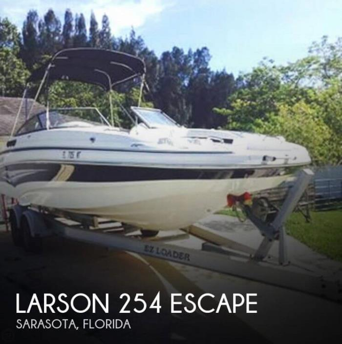 2008 Larson 254 Escape