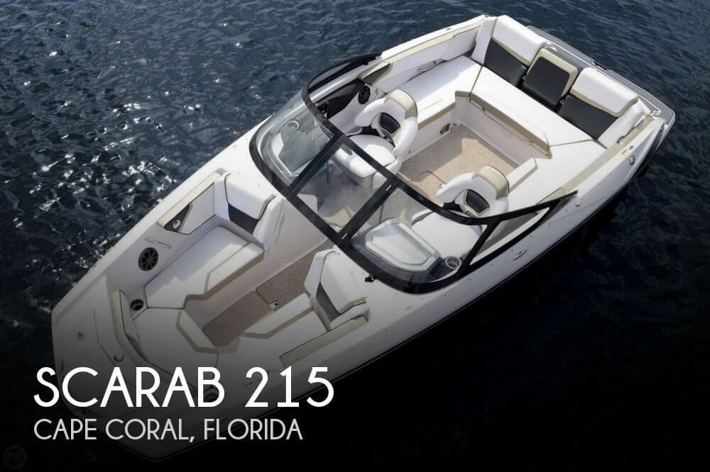 2014 Scarab 215