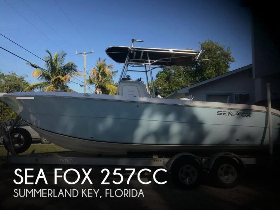 2006 Sea Fox 257CC