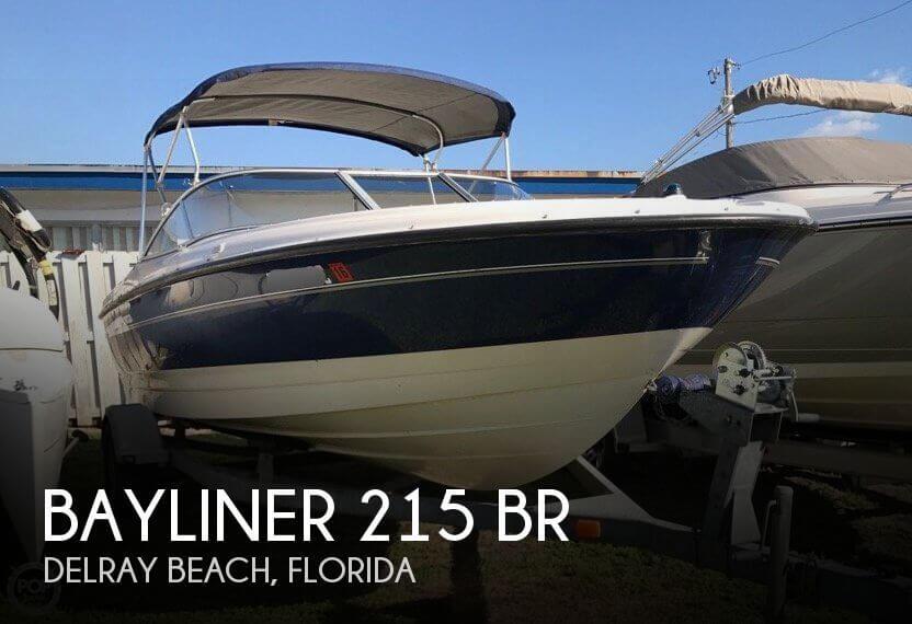 2006 Bayliner 215 BR
