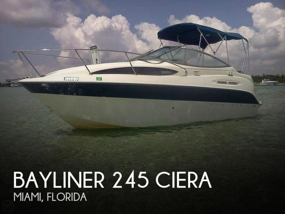 2007 Bayliner 245 Ciera