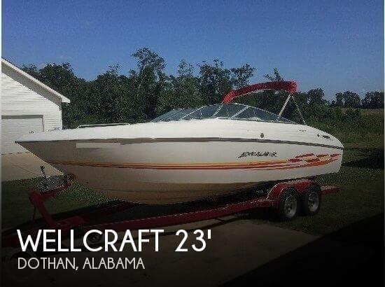 2000 Wellcraft 23 Excalibur SCS