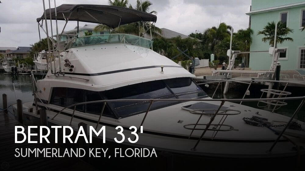 1987 Bertram 33 Sport Fisherman