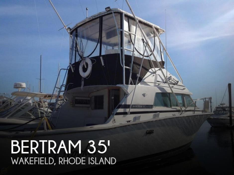 1983 Bertram 33 Sportfish