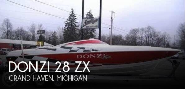 1998 Donzi 28 ZX