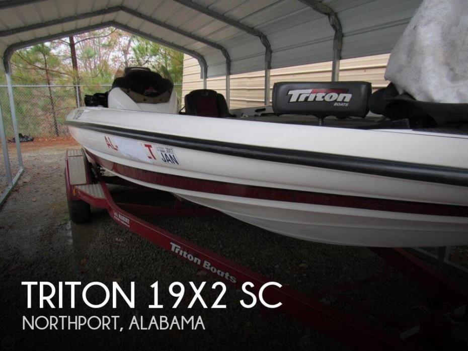 2008 Triton 19X2 SC