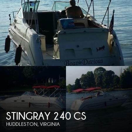 1997 Stingray 240 CS