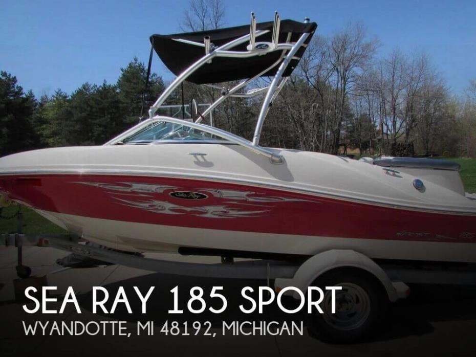 2008 Sea Ray 185 Sport