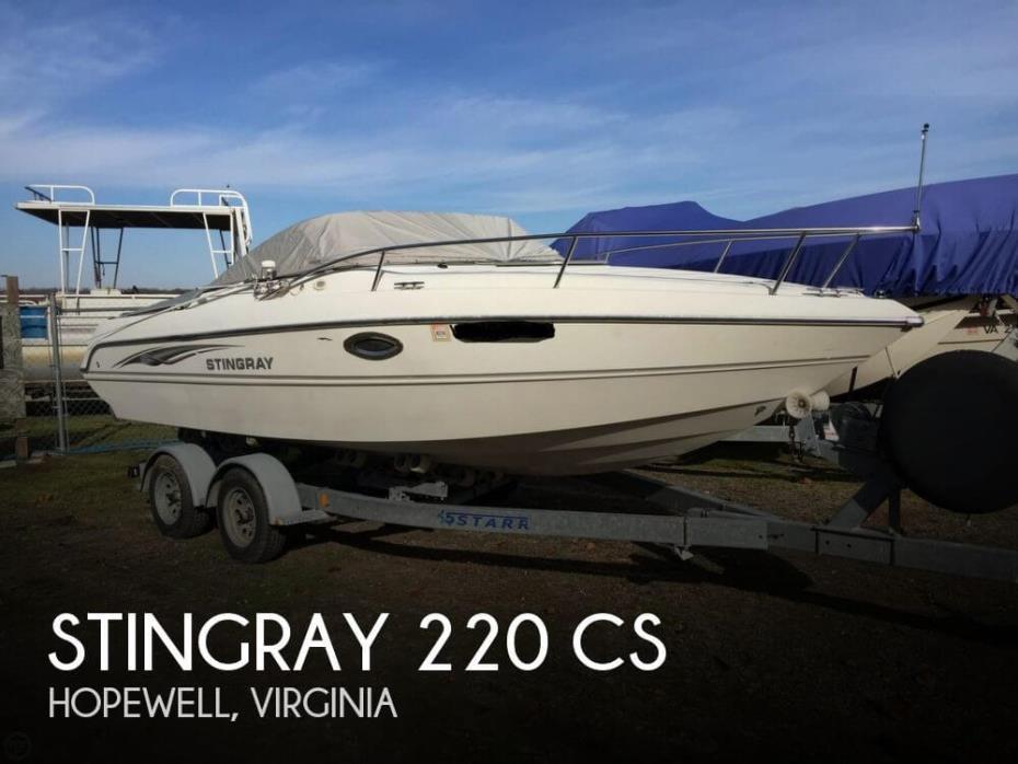 2005 Stingray 220 CS