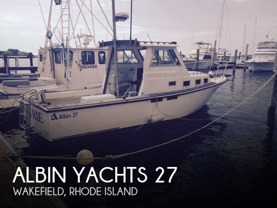 1986 Albin Yachts 27