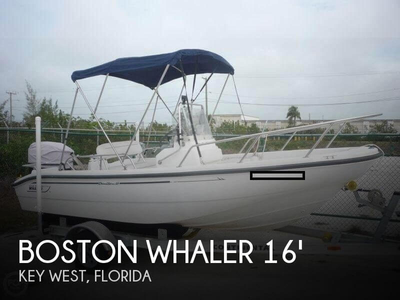 2001 Boston Whaler 16 Dauntless