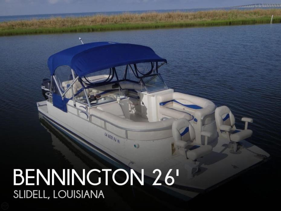 2003 Bennington Custom Catamaran 26