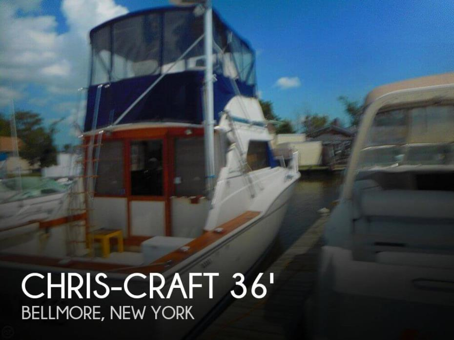 Chris Craft Tournament Sportfish For Sale By Owner