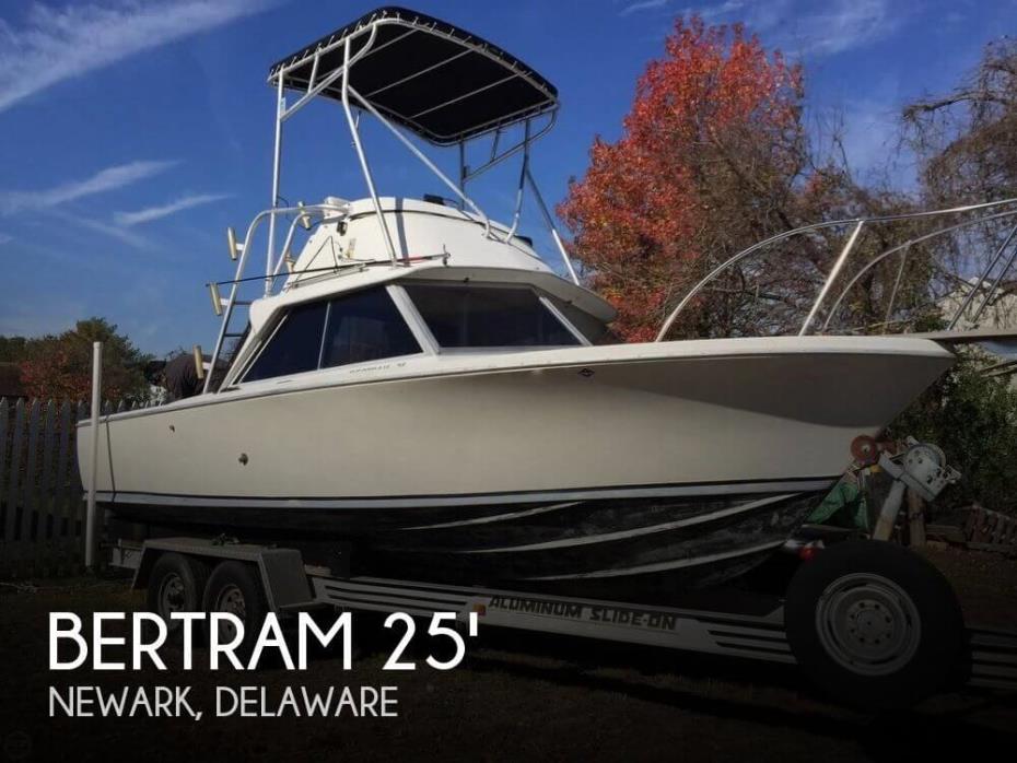 1968 Bertram 25 Mark II Flybridge Sportfish