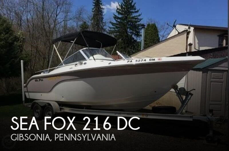 2012 Sea Fox 216 DC