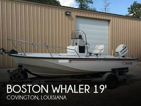 1995 Boston Whaler 19 Outrage