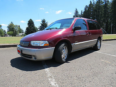 Mercury : Villager Estate 4 door Mercury Villager Estate, Red, Deluxe Model, Power Everything! Mantained! NICE!!
