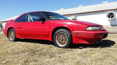 Pontiac : Grand Prix Mclaren Coupe 2-Door Rare No Rust 90 Pontiac Grand Prix Mclaren Turbo TGP Collector Barn Garage Find
