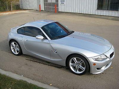 BMW : Z4 coupe M arctic silver 2006 model year prestine BMW Z4 coupe M series . low miles,  rare