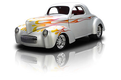 Willys : Coupe Coupe Frame Off Built Coupe 502 V8/502 HP 700R4 4 Speed Automatic Strange FAB9 PS A/C