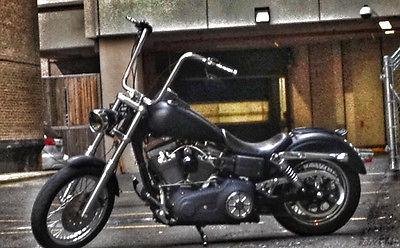 Harley-Davidson : Dyna 2006 harley street bob flat black