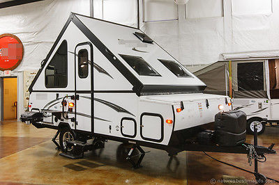 New 2015 T12RBSOR A Frame Hard Side Lite Fold Down Pop Up Camper Never Used