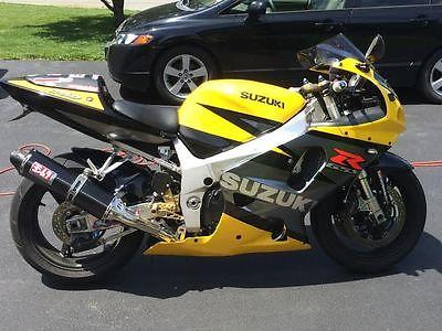 Suzuki : GSX-R 2003 gsxr 750