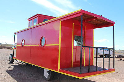 2015 CABOOSE MOTORHOME ONE OF A KIND