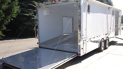 Freedom Trailer 2014. 8.5ft X 24ft fully loaded with extra doors and ramps