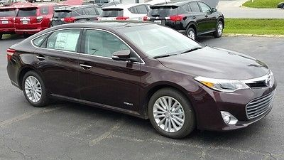 Toyota : Avalon Limited Power Auto Leather heated camera roof entune JBL Hybrid 40 mpg
