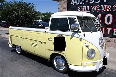 Volkswagen : Other Drop Side 1960 volkswagen single cab drop side truck 1600 engine 4 speed very clean rare