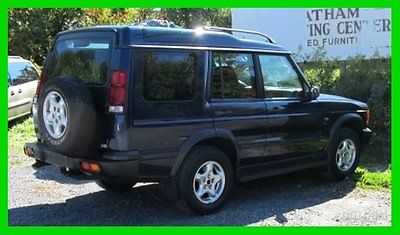 Land Rover : Discovery Series II 2001 series ii parts or repair runs drives shifts