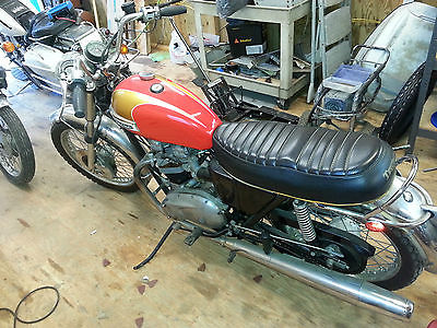 Triumph : Bonneville 1973 triumph bonnevill t 140 under 11 k original miles all original parts