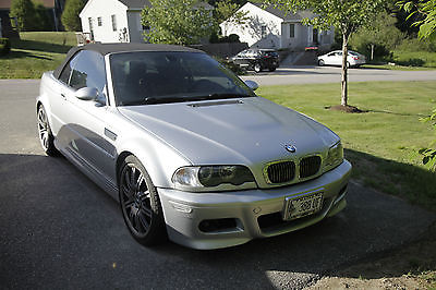 BMW : M3 Base Convertible 2-Door 2004 silver bmw m 3 e 46 convertible smg 97 k