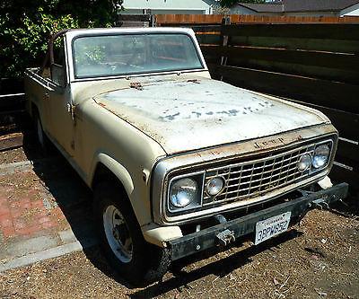 Jeep : Commando Stock Original 1972 jeep commando 4 x 4 original