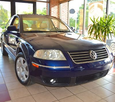 Volkswagen : Passat GLX V6 4Motion 4 motion all wheel drive cold package beautiful colors monsoon sound 60 pictures