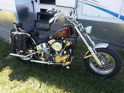 Harley-Davidson : Other 1938 knuckle head harley