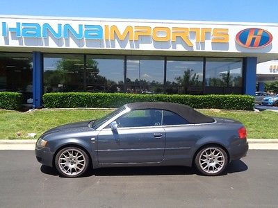 Audi : S4 Cabriolet Convertible 2-Door 2006