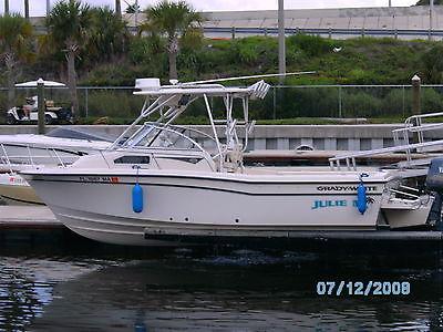 1999 Grady White 22.8 Seafarer Great Fishing Boat