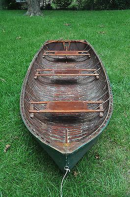 Vintage 12' Penn Yan Cartopper Boat Wood Cedar? 1950s?
