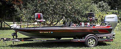 RANGER 362V BASS BOAT HONDA BF150 150 HOP ENGINE